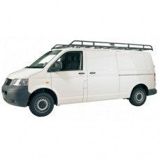 Rhino Modular Roof Rack - Transporter T5 LWB Twin Doors