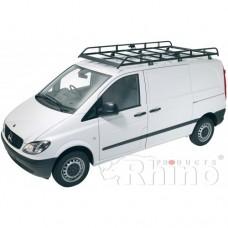 Rhino Modular Roof Rack - Vito 2003 - 2014 Compact Low Roof Tailgate