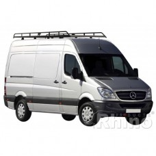 Rhino Modular Roof Rack - Crafter 2006 on SWB Low Roof
