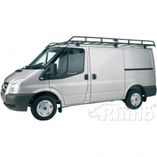 Rhino Modular Roof Rack - Transit 2000 - 2014 SWB Low Roof Twin Doors