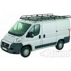 Rhino Modular Roof Rack - Ducato 2006 on MWB High Roof