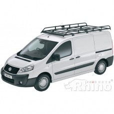 Rhino Modular Roof Rack - Scudo 2007 - 2016 SWB Low Roof Twin Doors