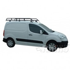 2 x Rhino Delta Roof Bars - Partner 2008 on SWB Twin Doors