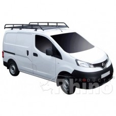 Rhino Modular Roof Rack - NV200 2009 on SWB Twin Doors