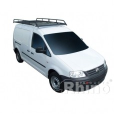 Rhino Modular Roof Rack - Caddy 2010 GP on SWB Twin Doors