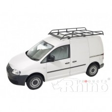 Rhino Modular Roof Rack - Caddy 2010 GP on SWB Tailgate