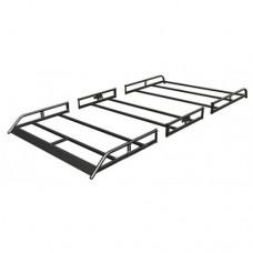 Rhino Modular Roof Rack - Transit Connect 2014 on LWB Twin Doors