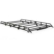 Rhino Modular Roof Rack - Talento 2016 on LWB Low Roof Twin Doors