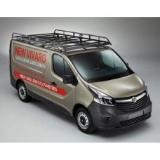 Rhino Modular Roof Rack - Vivaro 2014 on LWB Low Roof Tailgate