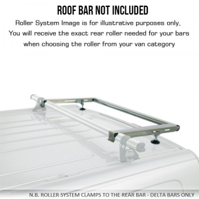 NV300 - 1000-S375P Delta Bar Rear Roller