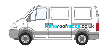 nissan interstar roof bars