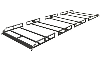 4 PIECE MODULAR ROOF RACK FOR LARGE VANS